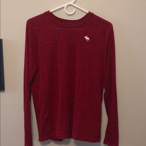 super soft abercrombie and fitch long sleeve shirt